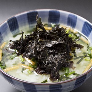 海苔を味わう感覚のしっかりとした風味で、お茶漬けにピッタリ。