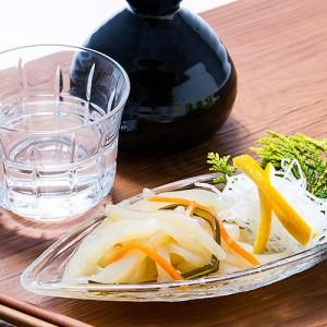 地元函館の新鮮なイカの旨味と歯ごたえをお愉しみください。