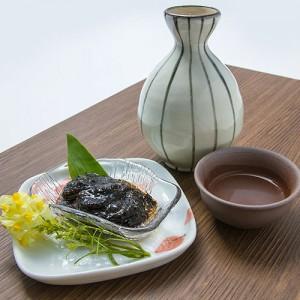 海苔とガゴメ昆布の豊かな香りにお酒も進む。チビチビと呑む酒の肴にいかがですか?